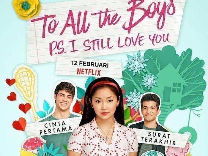 Film Dari Novel To All The Boys I've Loved Before