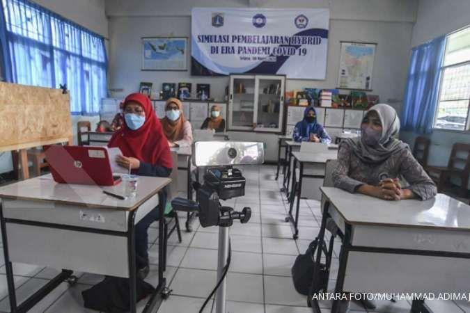 Catat hari ini uji coba pembukaan sekolah tatap muka DKI Jakarta, ini tata caranya