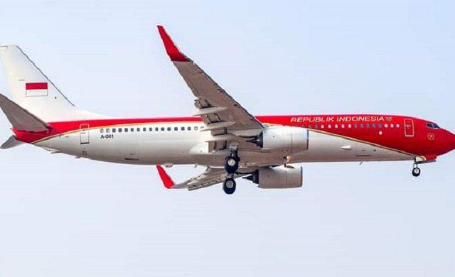 Biaya Pengecatan Pesawat Kepresidenan Habiskan Rp 2 M