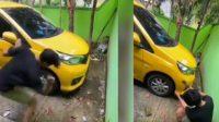 Viral Pria Rusak Mobil karena Mau Ditarik Leasing (Instagram/omg.indonesia.id_)